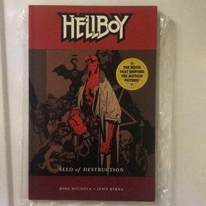 Hellboy seed of destruction comic occult demonic